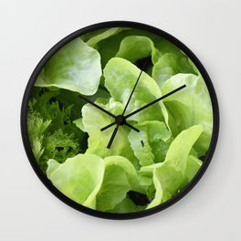Lettuce 1 Wall Clock