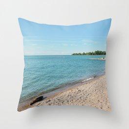 AFE Kew-Balmy Beach 8 Throw Pillow