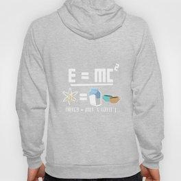 E=MC2 Energy Milk Coffee Hoody