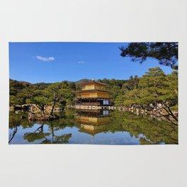 Kinkaku-ji, Golden Pavilion Temple Rug