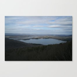 Gorhams Bluff Canvas Print