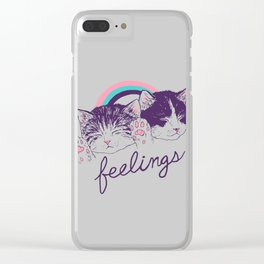 Feelings Clear iPhone Case
