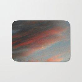 Moon and Sunset Bath Mat