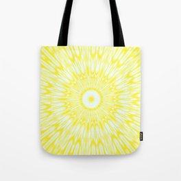 The Sun : Kaleidoscope Mandala Tote Bag
