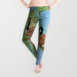 Feathered Friends Leggings