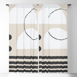 Abstract Modern Art Blackout Curtain