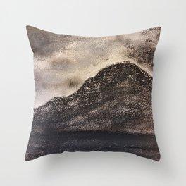 Norwegian Mountain by Gerlinde Throw Pillow