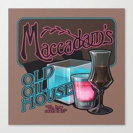 Maccadam's Canvas Print