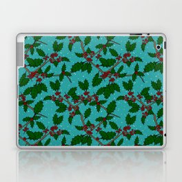 Boughs of Holly Laptop & iPad Skin