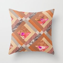 Cubed Throw Pillow