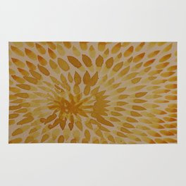 Golden Dots Rug