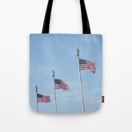 Flags over DC Tote Bag