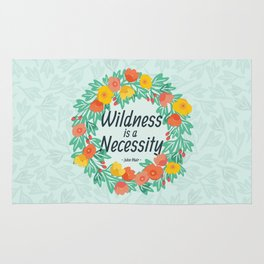 Floral Wildness Rug