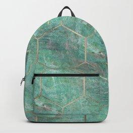 Alfetta Verde hexagons Backpack