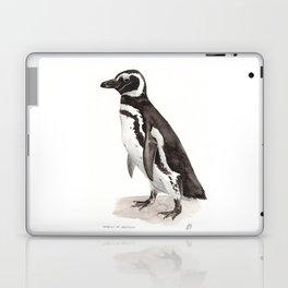 Penguin Watercolor Painting Laptop & iPad Skin
