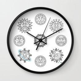Astrology 3 Wall Clock
