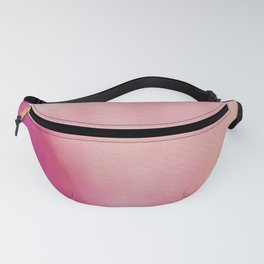 Pretty Pink Watercolor Background Fanny Pack