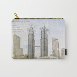 Petronas Towers, Kuala Lumpur Carry-All Pouch