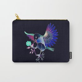 Flying with roses inverse Carry-All Pouch