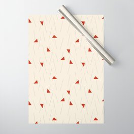 Minimal Winter Wrapping Paper