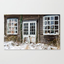 Closed until Further Notice Canvas Print