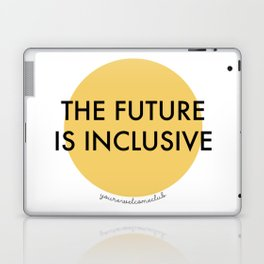 The Future Is Inclusive - Yellow Laptop & iPad Skin