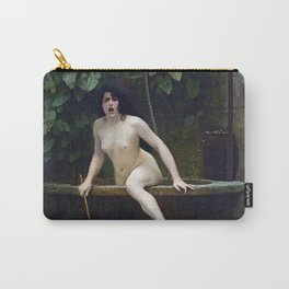 TRUTH COMING OUT OF HER WELL TO SHAME MANKIND - JEAN-LEON GEROME Carry-All Pouch