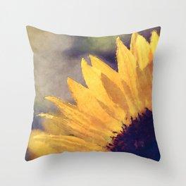 Another sunflower - Flower Flowers Summer Throw Pillow