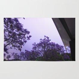 Jacarandas at night by Lightning Rug