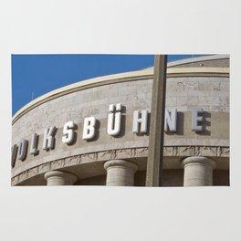 Volksbühne - Theater - Rosa-Luxemburg-Platz - Berlin - Germany  Rug
