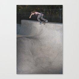 Van Wastell | Skateboard Photo | Backside Tailslide Canvas Print