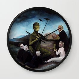 Modern Occultism Wall Clock