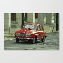 Classic Saab Canvas Print