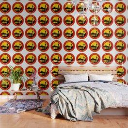 Berlin, circle, sticker Wallpaper