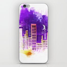 THE CITY THAT NEVER SLEEPS iPhone Skin