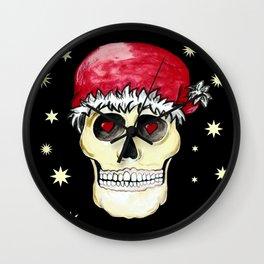 Smile, it's Christmas!! Wall Clock