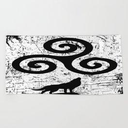 Teen Wolf Beach Towel
