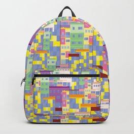 Building Pixel Blocks Backpack