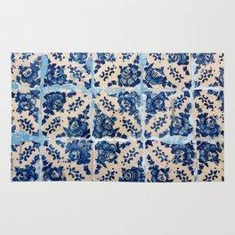 Portuguese Azulejo tiles Rug