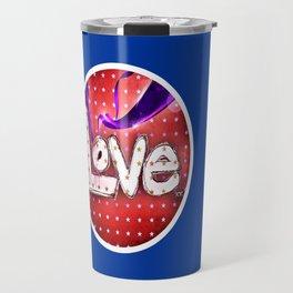 Love Never Fails Travel Mug