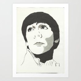 Keith Moon Art Print