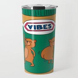 Peanut Butter Vibes - Smooth Travel Mug