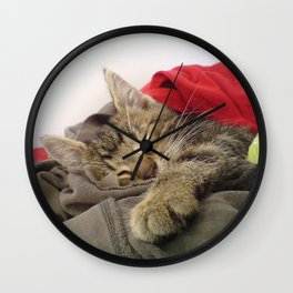 Cutest Cat Wall Clock