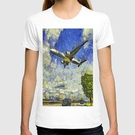Airliner Van Gogh T-shirt