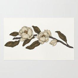 Magnolias Branch Rug