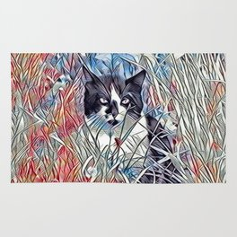 Here Kitty Kitty Rug