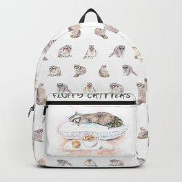 Sleeping Raccoon Backpack