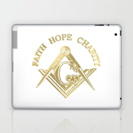 Masonic symbol Laptop & iPad Skin