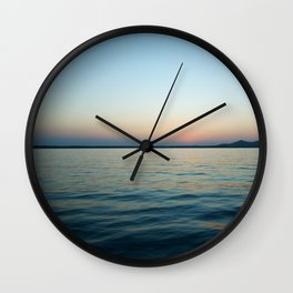 Subtle sunset Wall Clock