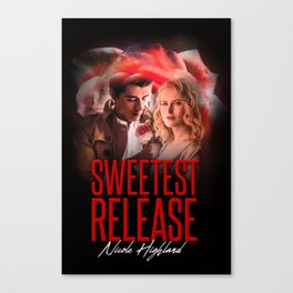 The Sweetest Release Canvas Print